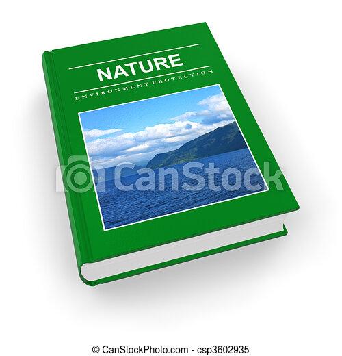 Ecological textbook  - csp3602935