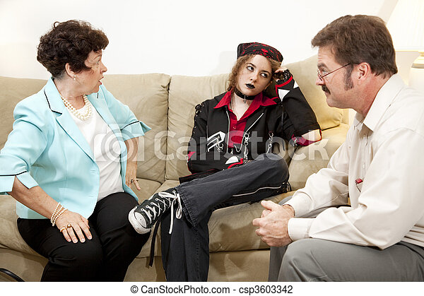 Counseling - Exasperation - csp3603342