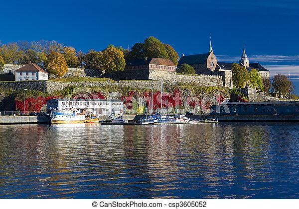 Akershus Fortress - csp3605052