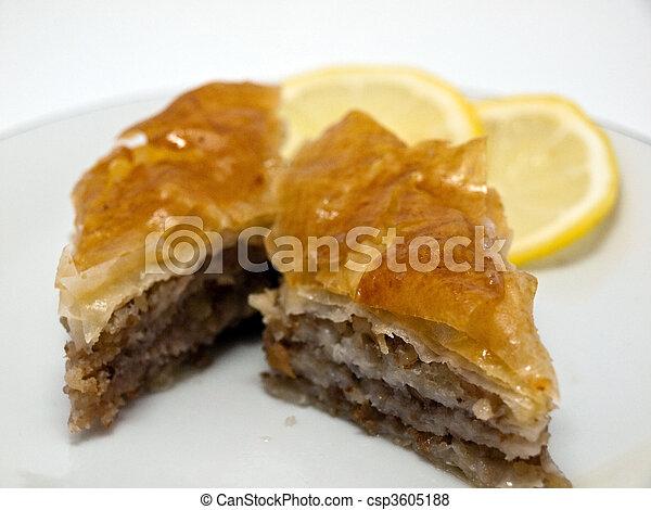 Baklava Cake Recipe Cake Baklava Csp3605188