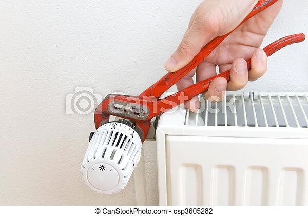 pliers radiator plumber - csp3605282
