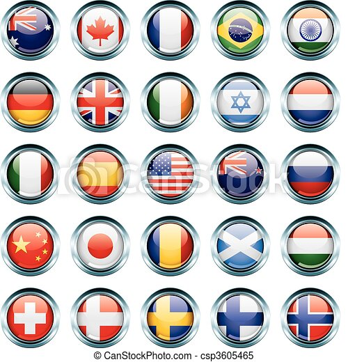 Country Flag Icons - csp3605465