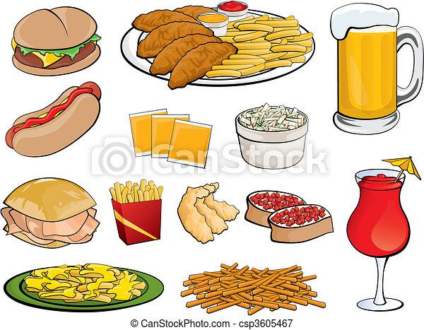 Food Icons - csp3605467