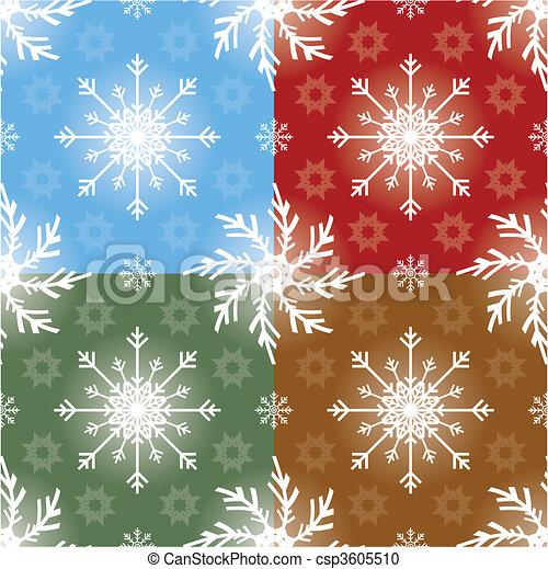 Christmas Seamless Pattern - csp3605510