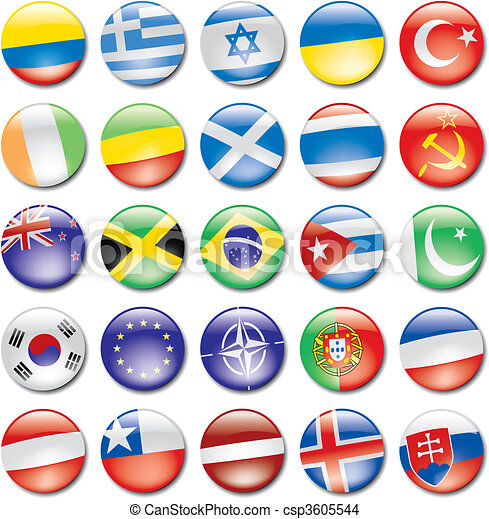 Flag Icons - csp3605544