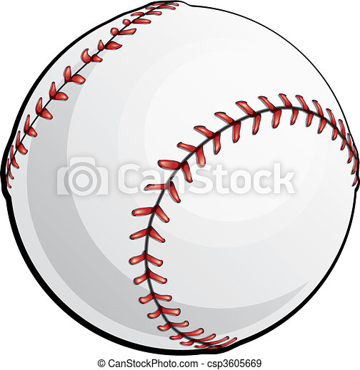 Vector Baseball  - csp3605669