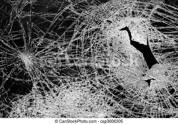 broken glass - csp3606305