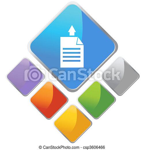 Paper Printing Direction - csp3606466