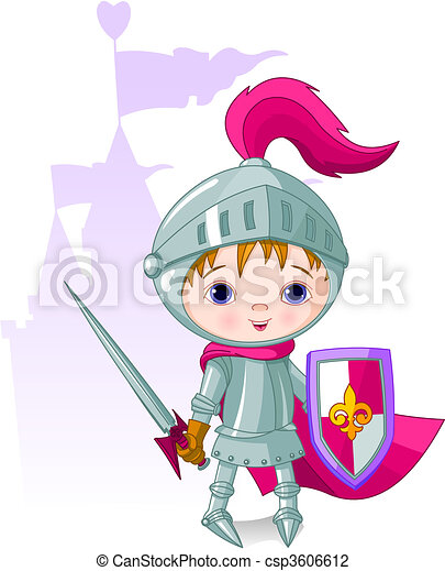 The Brave Knight  - csp3606612