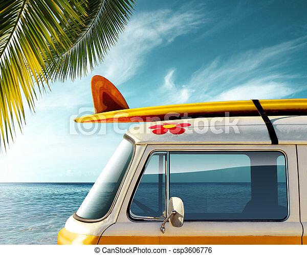 Palm Van - csp3606776