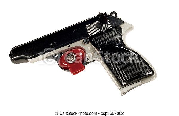 photo de pistolet d tente serrure rouges d tente serrure csp3607802 recherchez des. Black Bedroom Furniture Sets. Home Design Ideas