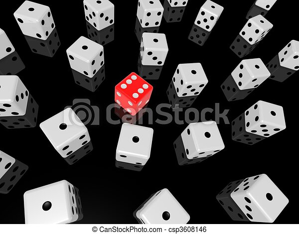 red dice - csp3608146