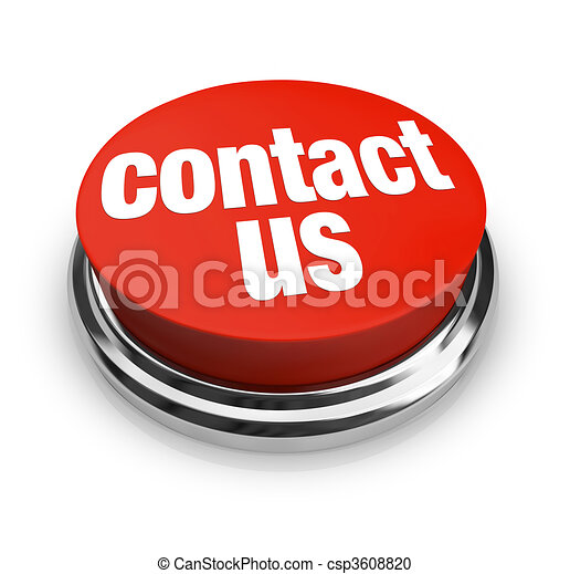 Contact Us - Red Button - csp3608820