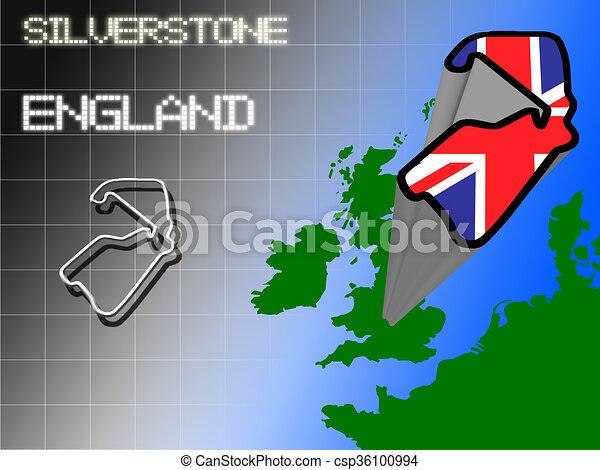 Silverstone - csp36100994