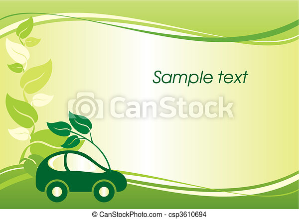 environmentally car - csp3610694