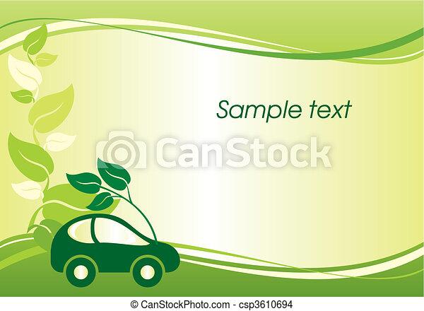 environmentally car - csp3610694