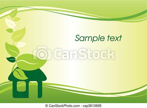 environmentally housing - csp3610695