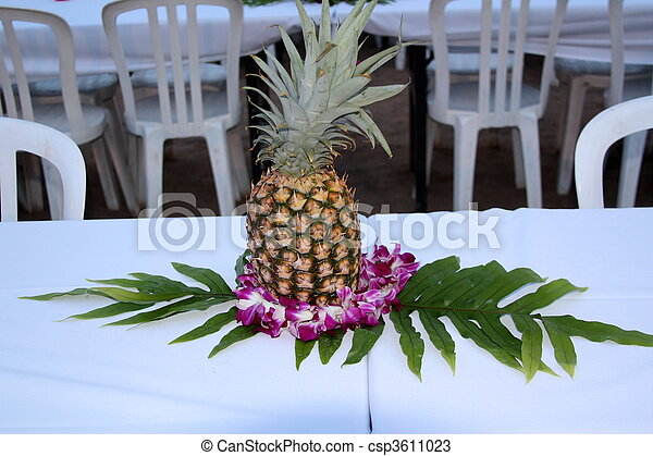 Stock Photos Of Pineapple Centerpiece Csp3611023 Search Images Photographs Pictures