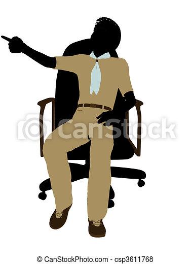 stock de ilustraciones de boyscout  sentado  en  un  silla boy scout logo svg boy scout logo clip art