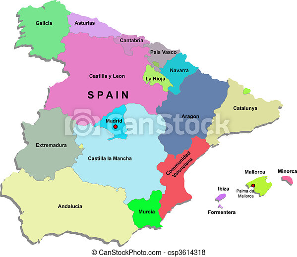 can-stock-photo_csp3614318 Easy To Draw Map Of Spain on easy to draw spain flag, simple map of spain, easy to draw map england, natural map of spain, high quality map of spain, accurate map of spain,