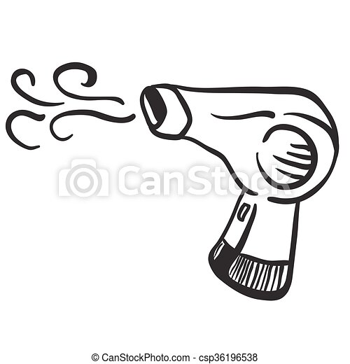 heres to a warmer dryer weekend. coloring page of hair dryer to