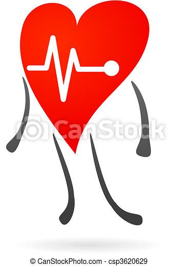 Hearth health symbol - csp3620629