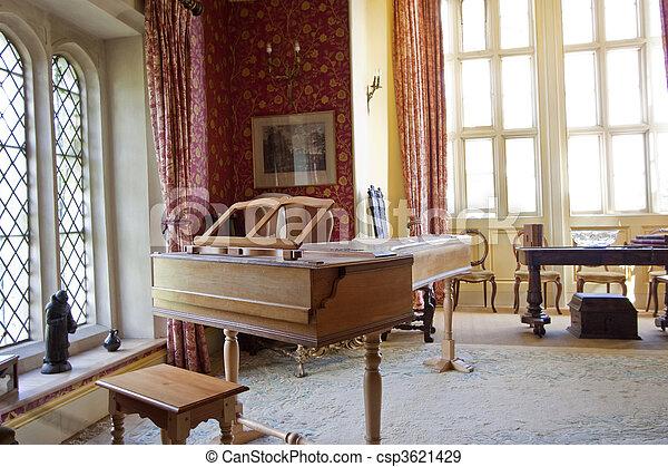 piano room - csp3621429