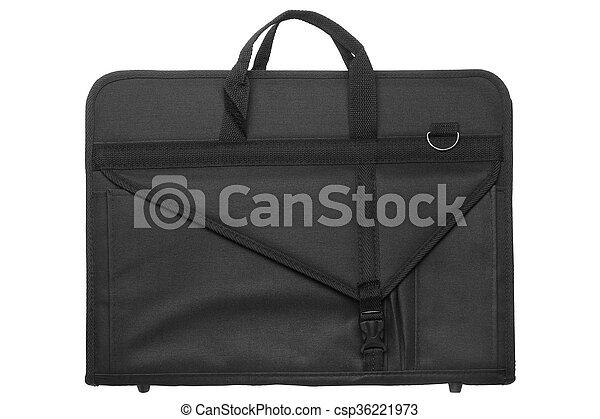 Nylon artist portfolio bag  - csp36221973