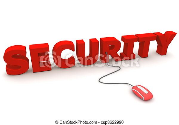 Browse with Red Security - Red Mouse - csp3622990