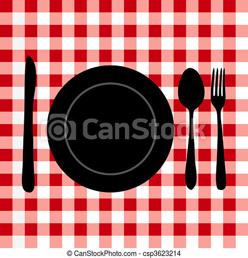 Meal Setting - csp3623214