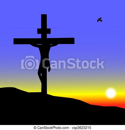 Jesus on the Cross - csp3623215