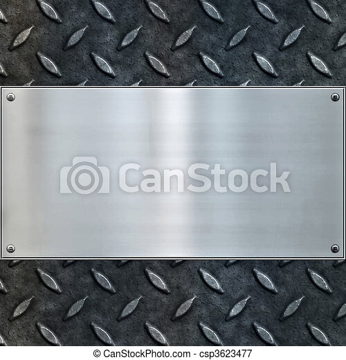 old metal background texture - csp3623477