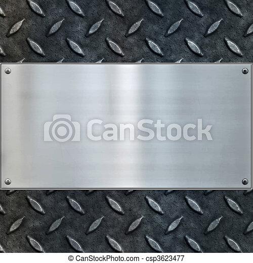old metal background texture - csp3623477