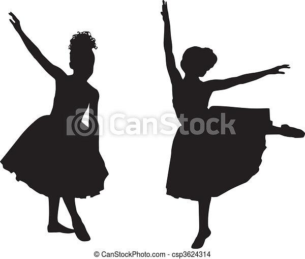 Small ballerinas - csp3624314