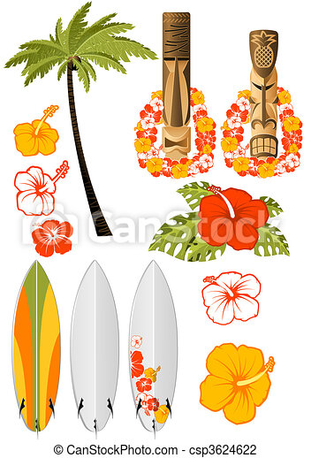Hawaiian rest attributes - csp3624622