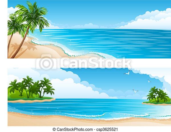 Tropical landscape - csp3625521