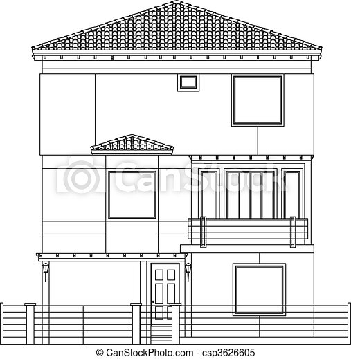 Clipart Vector Of Indian House Csp3626605 Search Clip