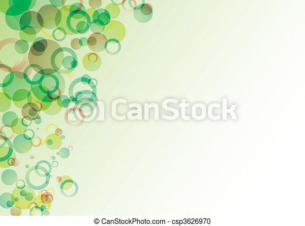 bubble float green - csp3626970