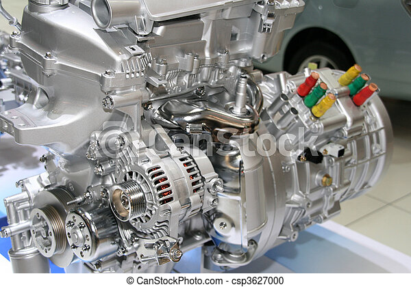 Automobile Hybrid Engine - csp3627000