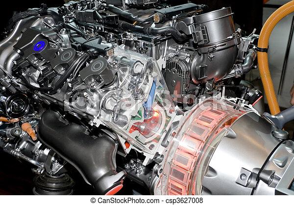 Automobile Hybrid Engine - csp3627008