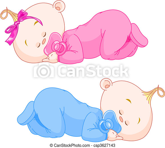 vectors of sleeping babies two charming little twins sleeping black baby clipart sleeping baby angel clipart