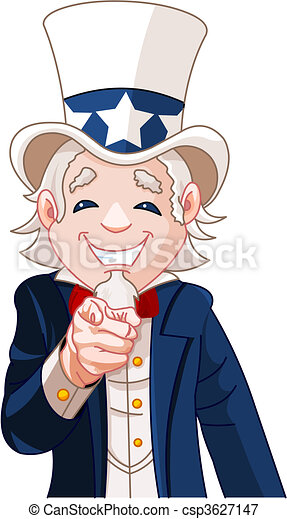 Uncle Sam Wants You! - csp3627147
