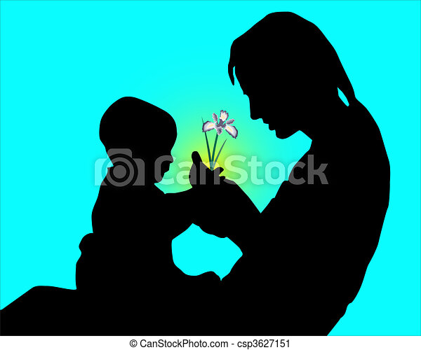 Mum and the child - csp3627151