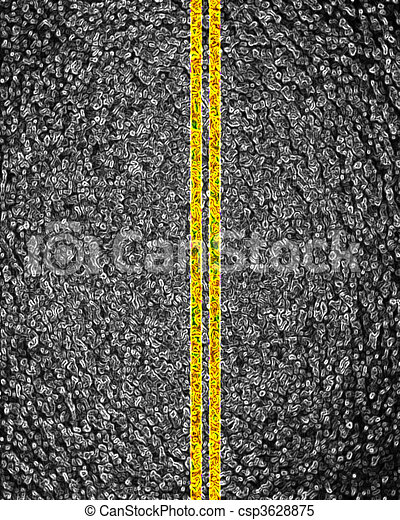 Asphalt background texture - csp3628875