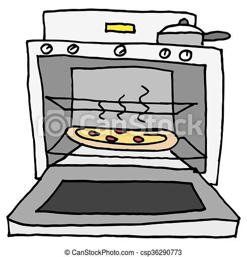 Small Kitchen Baking Oven