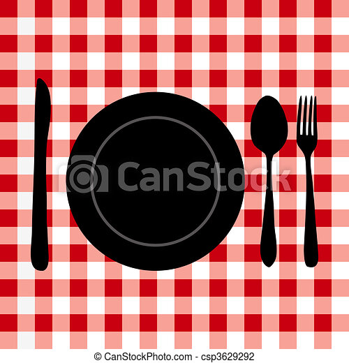 Meal Setting - csp3629292