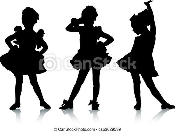 Small ballerinas - csp3629539