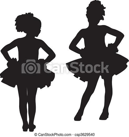 Small ballerinas - csp3629540