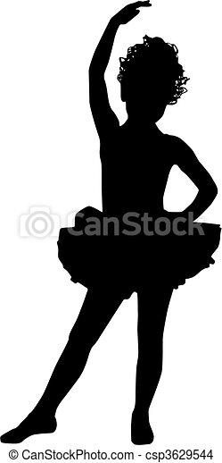 Small ballerina - csp3629544