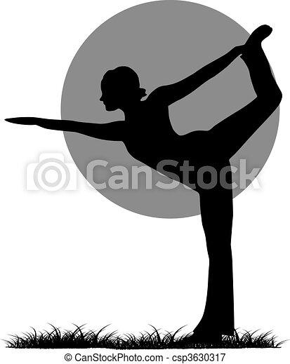 Yoga - csp3630317